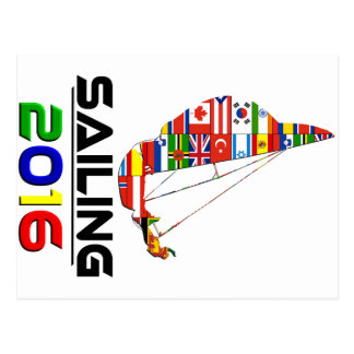 2016:Sailing Postcard