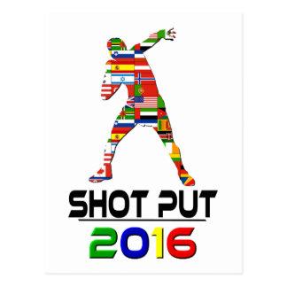 2016 Shotput Post Card