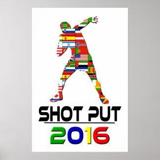 2016 Shotput Poster
