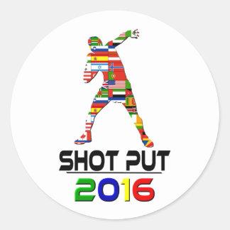 2016:Shotput Round Sticker