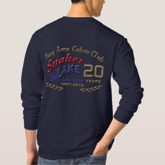 2016 Snakes basic long sleeve logo on back T-Shirt