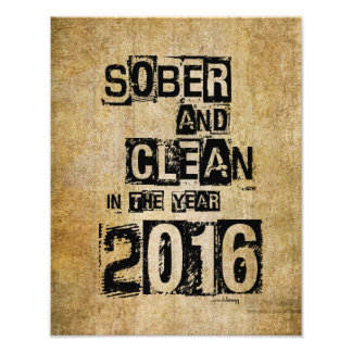 2016: Sober & Clean (12 step drug & alcohol free) Photograph