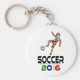 2016:Soccer Key Ring