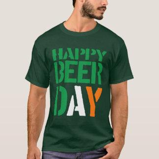 2016 St Patricks Irish Colors Happy Beer Day T-Shirt
