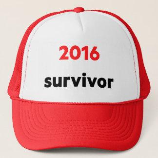 """""""2016 survivor"""" cap"""