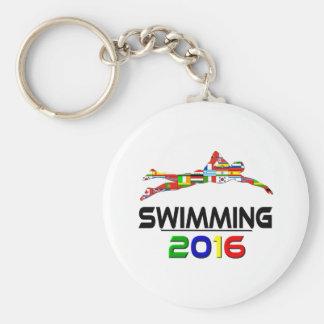 2016:Swimming Key Ring