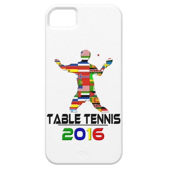 2016: Table Tennis Barely There iPhone 5 Case