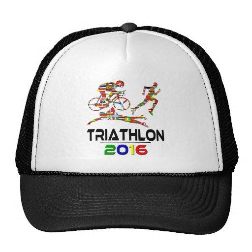 2016: Triathlon Hats