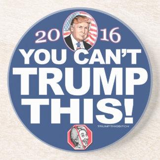 2016 Trump This Anti-Hillary Clinton Drink Coaster
