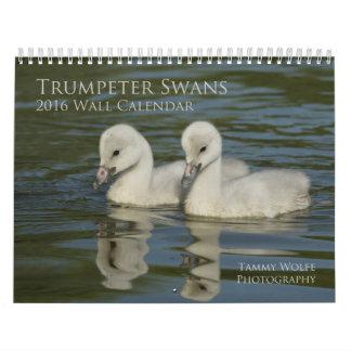 2016 Trumpeter Swan Wall Calendar