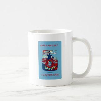 2016 USA Have a Nice Day Hillary Stronger Together Coffee Mug