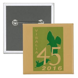2016 Visalia 15 Cm Square Badge