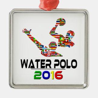 2016: Water Polo Christmas Ornament
