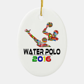 2016: Water Polo Christmas Ornament