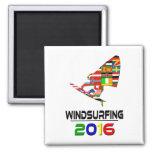 2016:Windsurfing Fridge Magnets