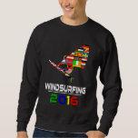2016:Windsurfing Pullover Sweatshirts