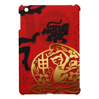 2016 Year of The Monkey Chinese New Year iPad Mini Cover