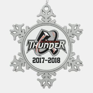 2017-2018 Thunder Ornament