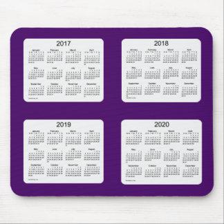 2017-2020 Purple 4 Year Calendar by Janz Mousepad