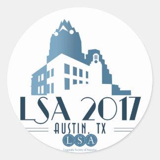 2017 Annual Meeting Sticker, Sheet of 20 Round Sticker
