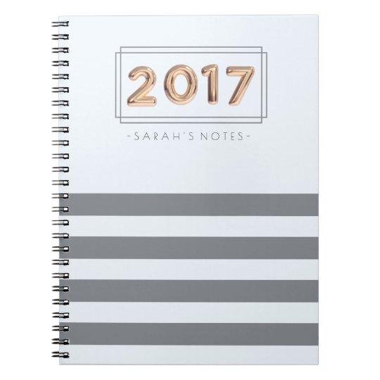 2017 Balloon Notebook