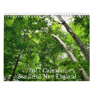 2017 Beautiful New England Calendar