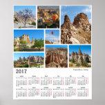 2017 calendar Cappadocia Poster