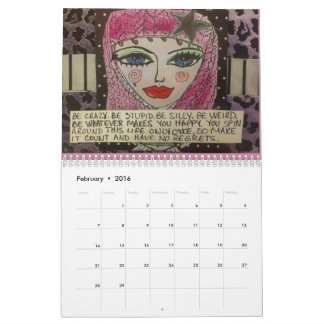 2017 CALENDAR FILLED WITH BAD GIRL ART