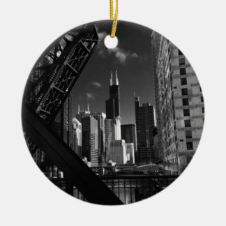 2017 Chicago, Illinois Christmas Ornament