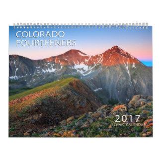 2017 Colorado Fourteeners Wall Calendars