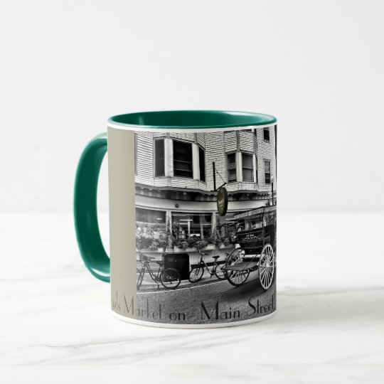 2017 - Doud's Market on Main St Mackinac Island MI Mug