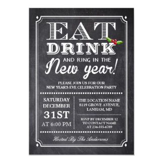 New Year 2017 Party Invitations & Announcements | Zazzle.co.uk