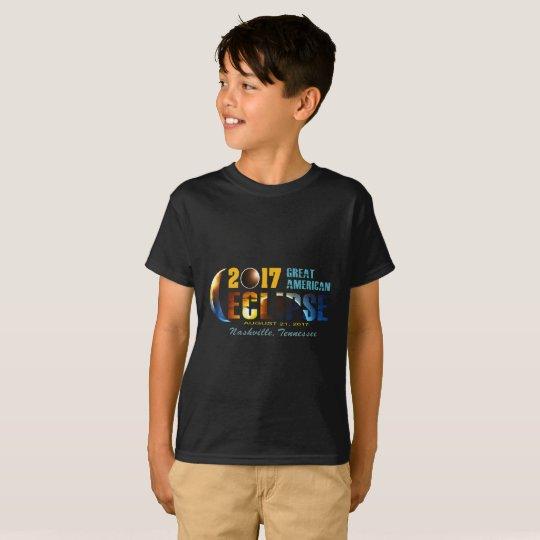 2017 Eclipse Kid's T-Shirts