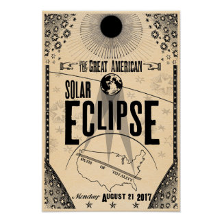 2017 Eclipse Showprint-Style Poster