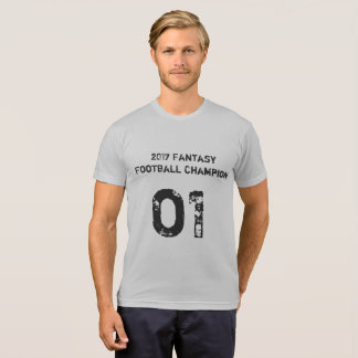 2017 Fantasy Football Champion T-Shirt