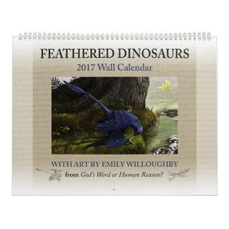 2017 Feathered Dinosaur Calendar