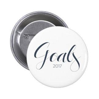2017 Goals Button