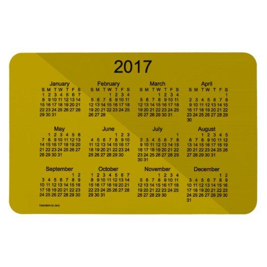 2017 Gold Angle Art Calendar by Janz 4x6