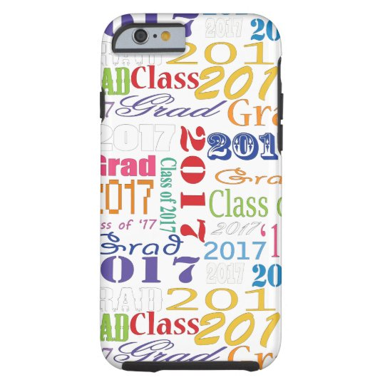 2017 Graduate Tough iPhone 6 Case