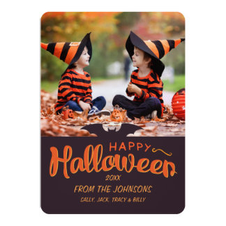 2017 Happy Halloween Custom Card