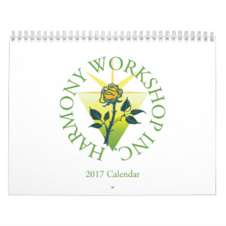 2017 Harmony Workshop Calendar