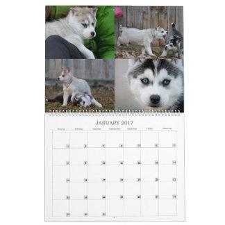 2017 Husky Calendar