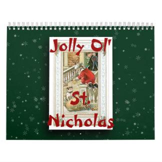 2017 Jolly Ol' St. Nicholas Calendar