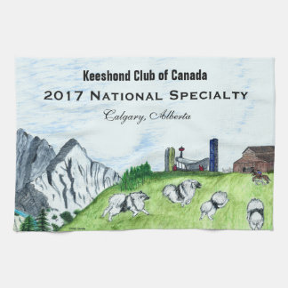 "2017 KCC National Specialty Hand Towel (16""x24"")"