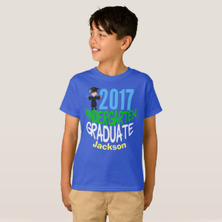 2017 Kindergarten Graduate Custom Kids T-Shirt