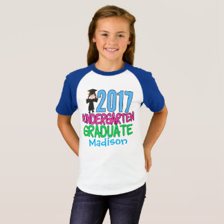 2017 Kindergarten Graduate Girl T-Shirt