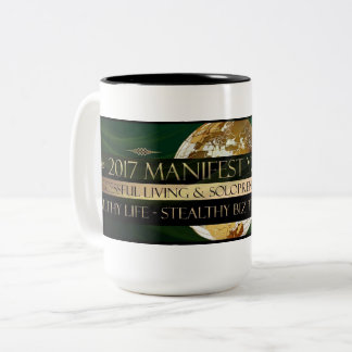 2017 Manifesting Your Life(TM) Two-Tone Coffee Mug