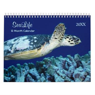 2017 Marine Fish and Sea Life Calendar