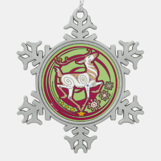 2017 Mink Holidaze Xmas Ornament Red/Citrine