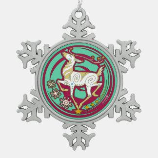 2017 Mink Holidaze Xmas Reindeer Ornament